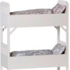 lit maileg double lits superposes maileg blanc bunk bed off white small