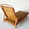 chaise longue rotin vintage transat poupee osier
