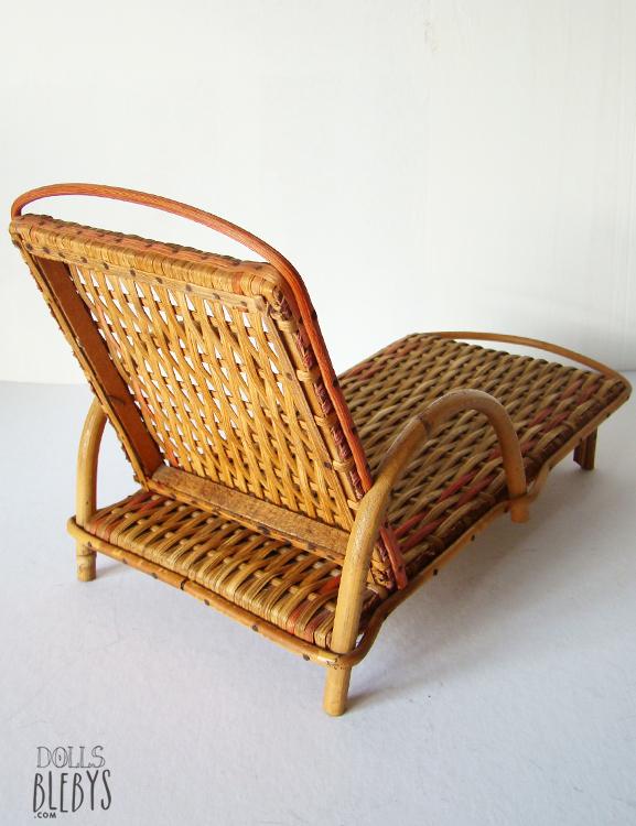 chaise longue rotin - Transat osier modèle ancien - jouets anciens ...
