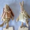 lapins bebes habilles rabbit et bunny micro maileg