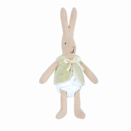 maileg bunny micro avec couche et veste