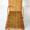 transat rotin poupees vintage chaise longue osier tresse