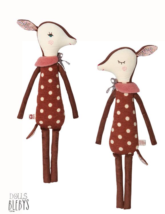 MAILEG bambi medium doudou Biche