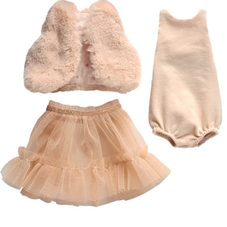 maileg ballerine rose best friends robe danseuse
