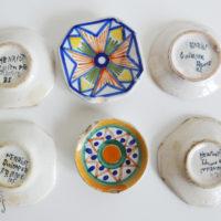 assiettes miniatures bretonnes