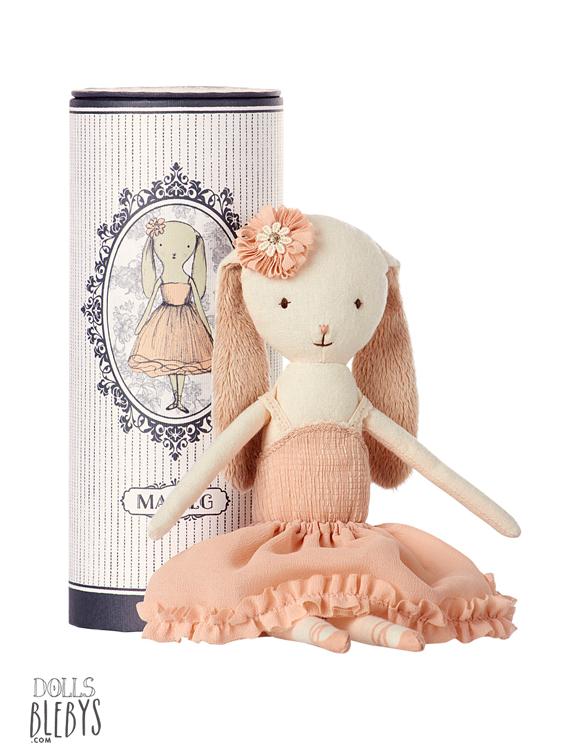 danseuse Maileg Bunny avec tube Dancing ballerina bunny in tube