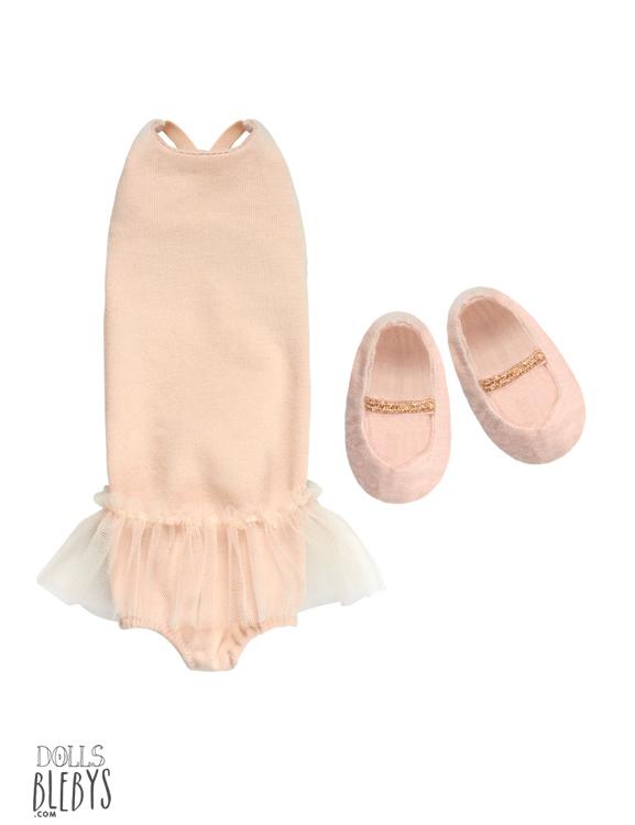 maileg ballerine costume comprenant justaucorps et chaussures