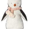 maileg pingouin echarpe rose