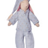 maileg pyjama bleu pour mini doudou lapin souris