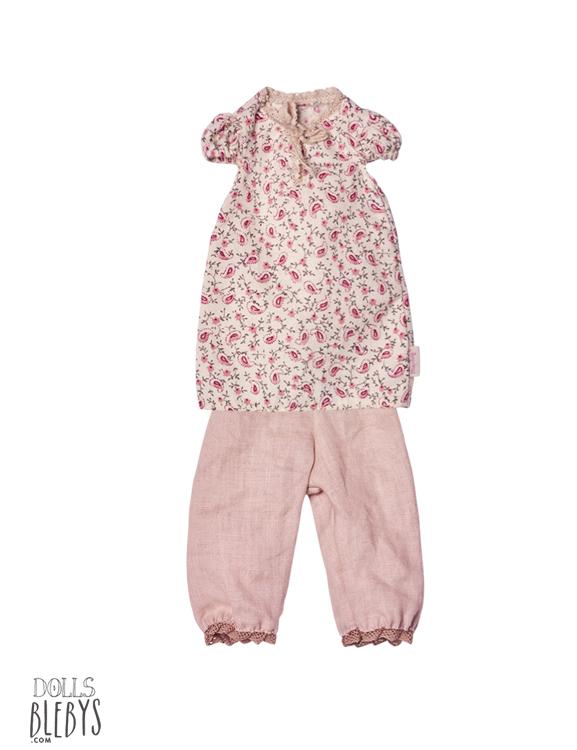 maileg pyjama rose medium