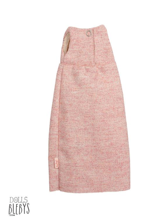 maileg robe en laine rose pour doudous medium