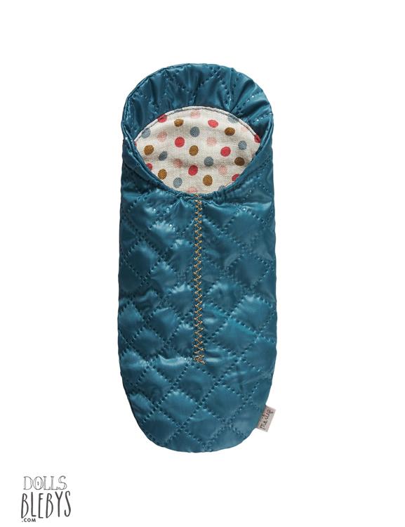 maileg sac de couchage bleu petit modele micro my