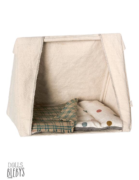 maileg tente souris et lapins pour petits doudous