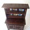 meuble breton miniature buffet complet poupees