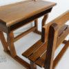 moulin roty mobilier poupee pupitre bureau bois