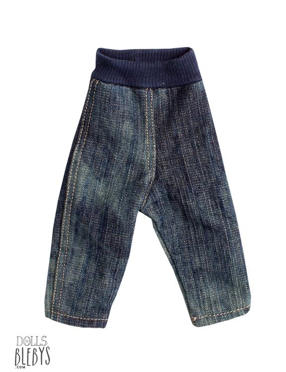 pantalon maileg jeans medium pour doudous de 43 à 53 cm