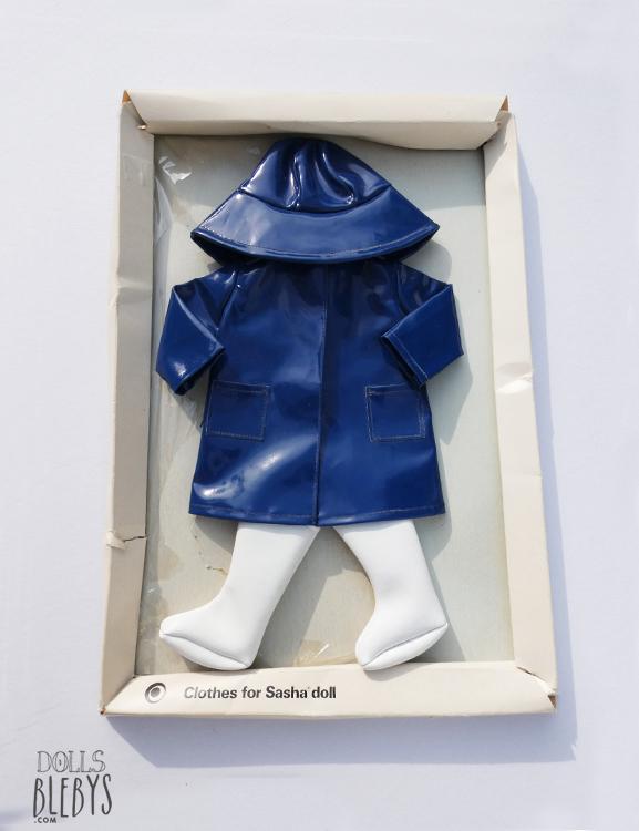 raincoat sasha 804 impermeable complet neuf