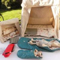 tentes et sacs de couchage Maileg pour les tailles