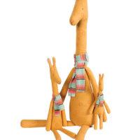 girafe maileg mega maxi girafe avec sa famille