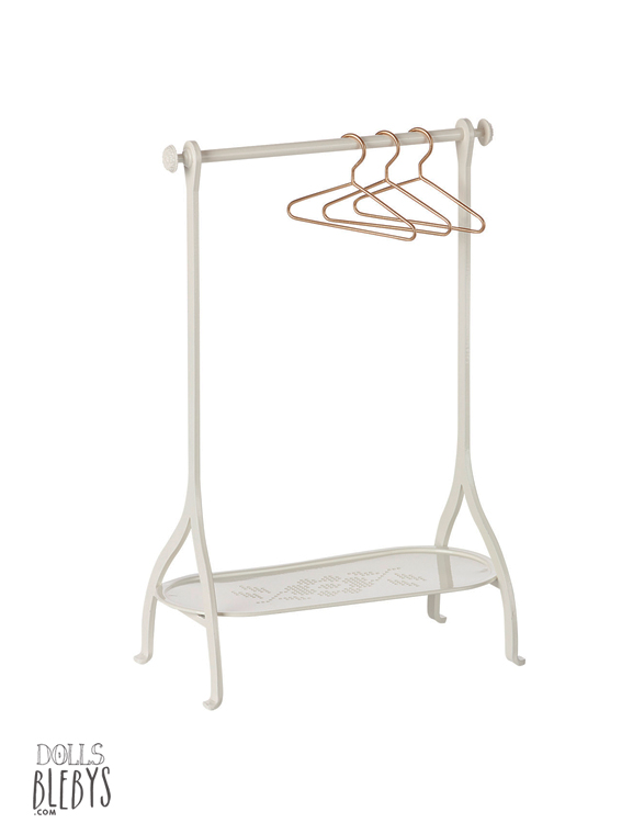 rack maileg penderie blanche clothes rack off white