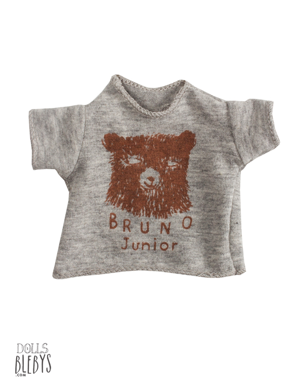 t-shirt maileg ours pour mini doudous tee-shirt
