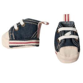 chaussures maileg baskets medium bleues