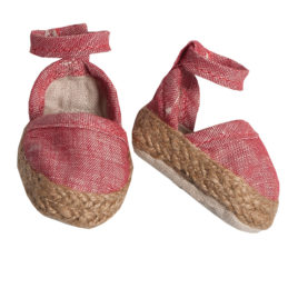 espadrilles maileg medium red