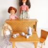 mobilier 1960 poupées avec poupées 29 cm 33 cm et 48 cm