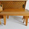 mobilier poupees 1960 buffet table chaises Vintage