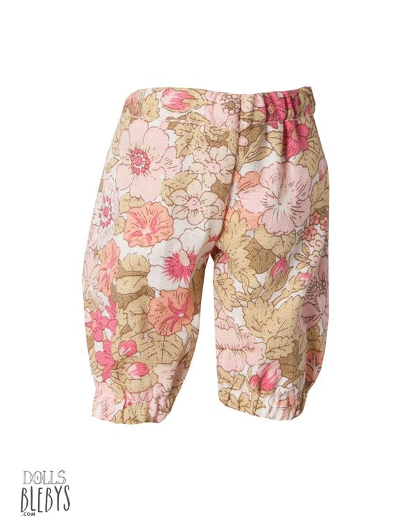 pantalon mini maileg fleuri bunny rabbit