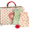 robes maileg Mouse Suitcase with 2 sets of clothes