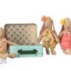 maileg micro valise avec 2 vetements 16702100