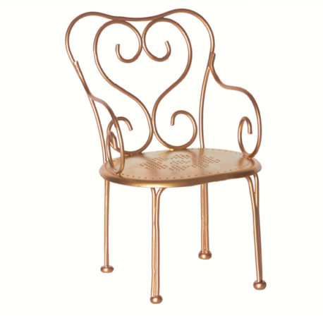 chaise maileg vintage gold chaise de cafe