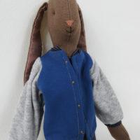 jacket bleu maileg medium pour lapins medium