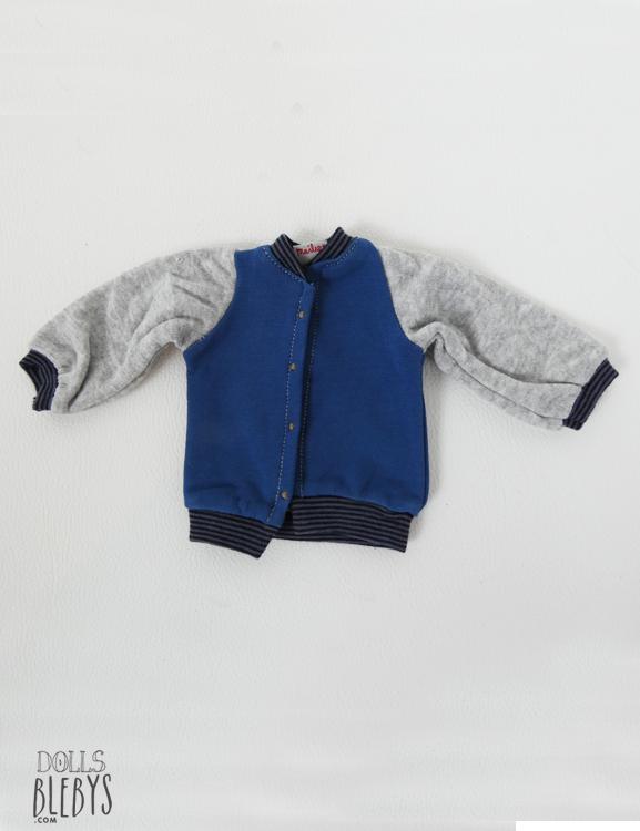 jacket bleu maileg medium