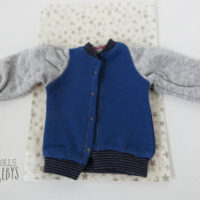 jacket bleue veste maileg medium