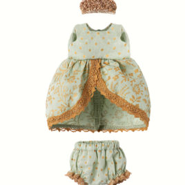 micro robe princesse maileg mint
