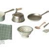 accessoires cuisine maileg rose en metal
