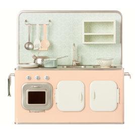 cuisine maileg rose metal kitchen powder