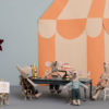 maileg vintage dinner micro table salle a manger micro poupees