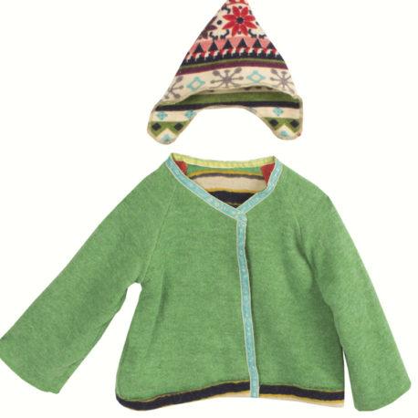 nepal maileg mega veste et chapeau pour bunny rabbit mega