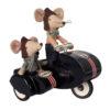 sidecar maileg noir ancien modèle avec souris maileg racer