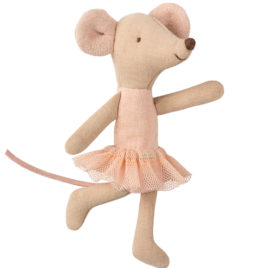 souris ballerine maileg little sister