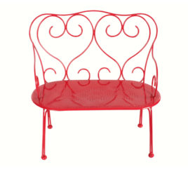 banc maileg romantique rouge medium