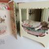 bunny and the pea maileg Autre décor au dos du carrelage