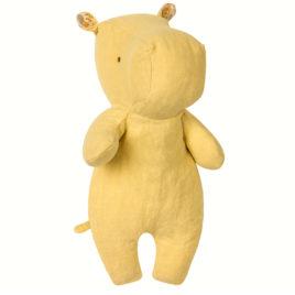 hippo maileg jaune small