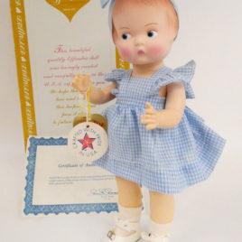 poupée PATSY 1986 Effanbee avec boîte
