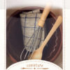 coffret maileg ustensiles de cuisine Whisk bowl and tea towel