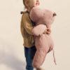 hippo maileg large vieux rose