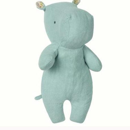maileg hippo bleu debout